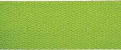 Cotton Webbing Strap 25 mm - green