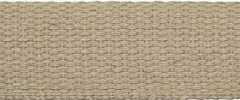 Cotton Webbing Strap 25 mm - dark beige