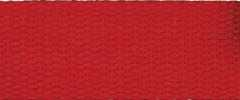 Cotton Webbing Strap 25 mm - red