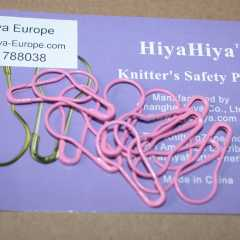 HiyaHiya Safety Pins - pink