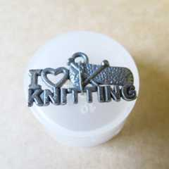 Charms - I love knitting