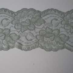 Lace Trim 90 mm - silver