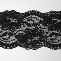 Lace Trim 90 mm - black