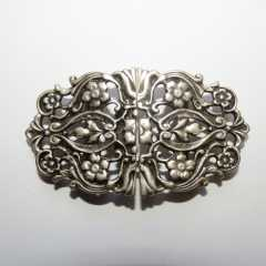 Ornament Clasp oval - 70 mm