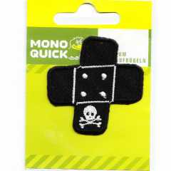 Applique Bandaid with Skull