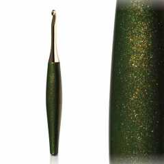 Furls Crochet Hook Odyssey Gold Forest 9,0 mm (US 13)