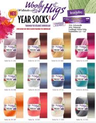 Year Socks Juni - Woolly Hugs