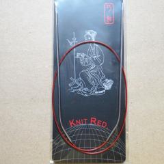 ChiaoGoo Rundstricknadel Knit Red 3,0 - 100 cm