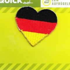 Applique German Heart