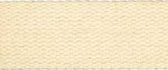 Cotton Webbing Strap 25 mm - beige