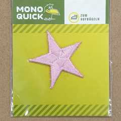 Applique Star - pink
