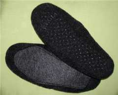 Felt Soles for Slippers - approx. 17,0 cm