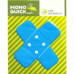 Applique Bandaid - neon blue