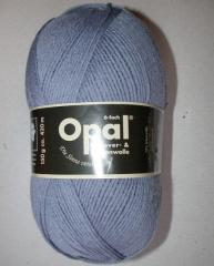 Opal Uni 6-fach - Jeansblau 5307