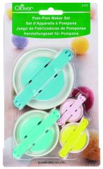 Clover Pompom Maker Set