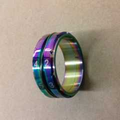 Counter Ring rainbow sz. 7