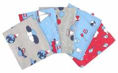 Craft Cotton Fabric Set - MIFFY Holiday