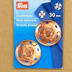 Druckknöpfe 30 mm - roségold