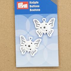 Druckknöpfe Schmetterling - 25 mm