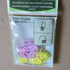Clover Quick Locking Stitch Markers - large