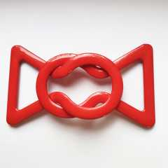 Large Plastic Clasp red