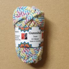 Gummiball 10 m - bunt
