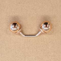 Ball Clasp rosé-gold 60 mm