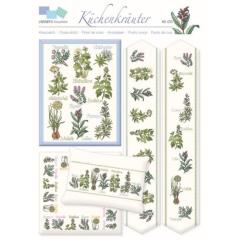 LINDNERS Kreuzstiche - Culinary Herbs