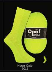 Opal Neon 6-ply yellow
