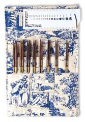 PONY ROSEWOOD Knitting Needle Set