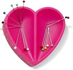 Prym Love Magnetic Pin Cushion Heart