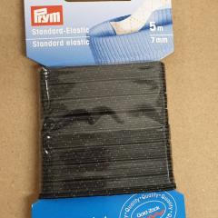 Elastic Ribbon 7 mm - black